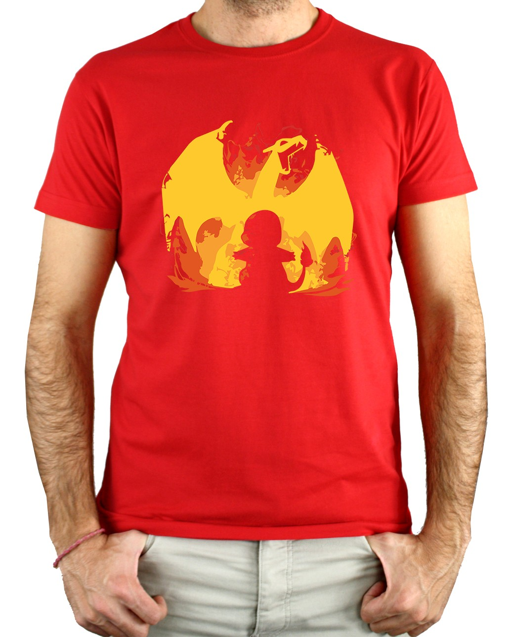 CAMISETA dragón de fuego