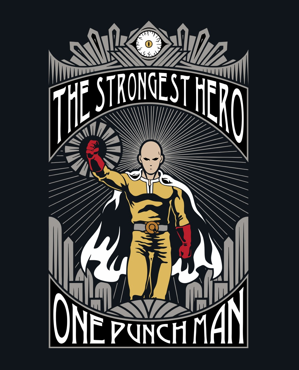 THE STRONGEST HERO – ONE PUNCH MAN