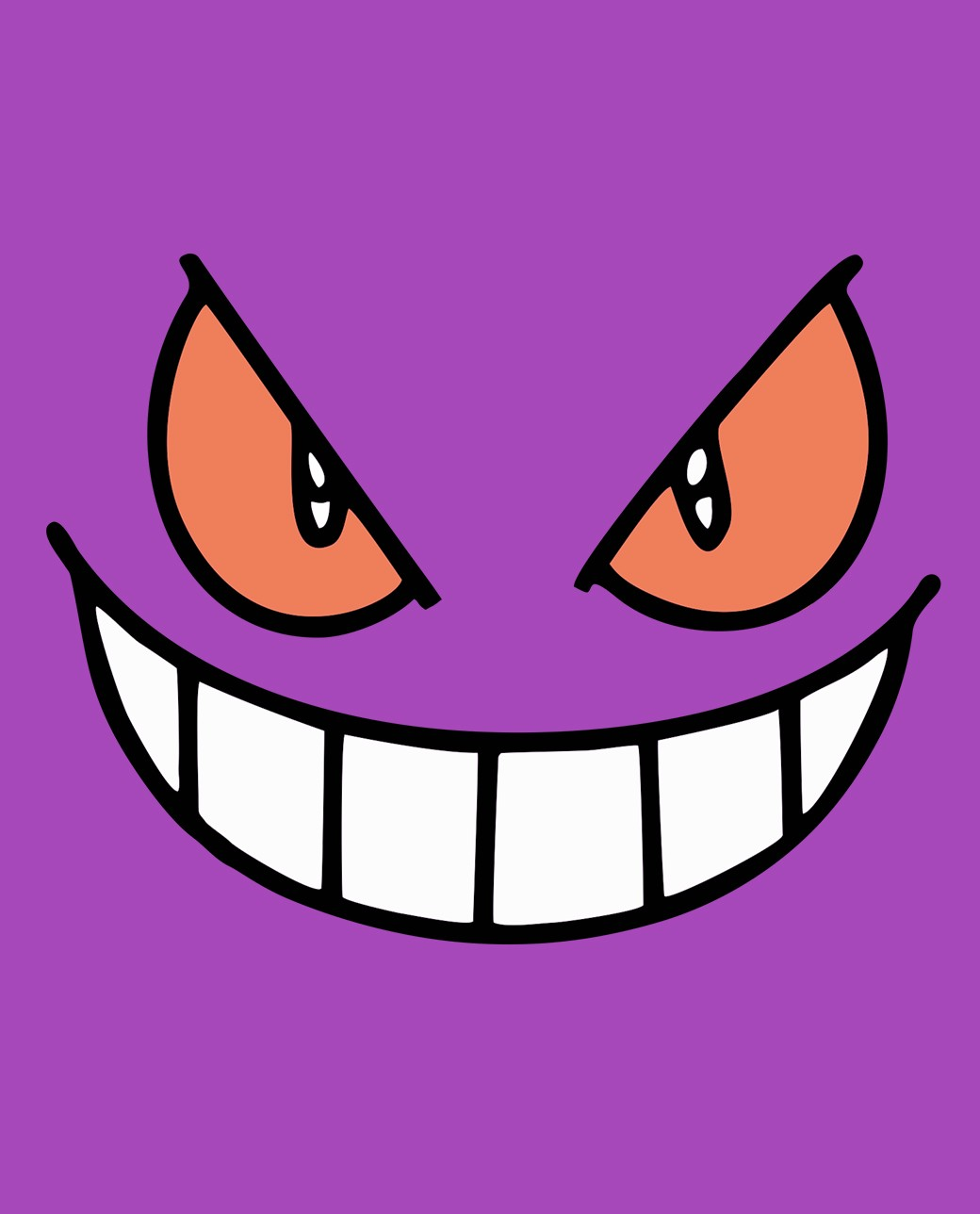 camiseta el terror púrpura