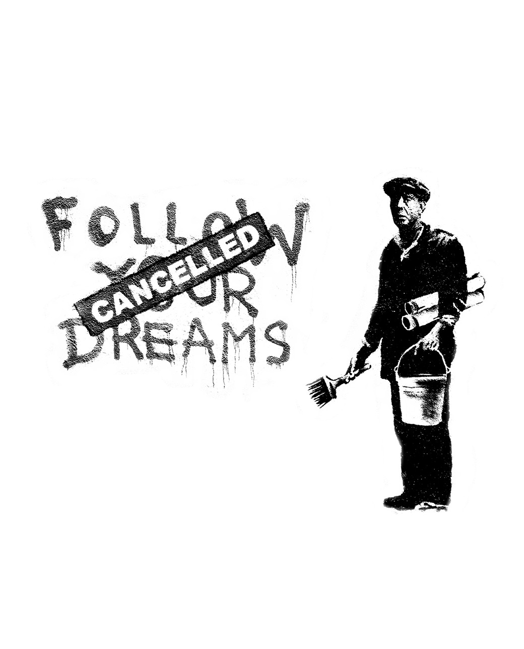 SUDADERA FOLLOW YOUR DREAMS