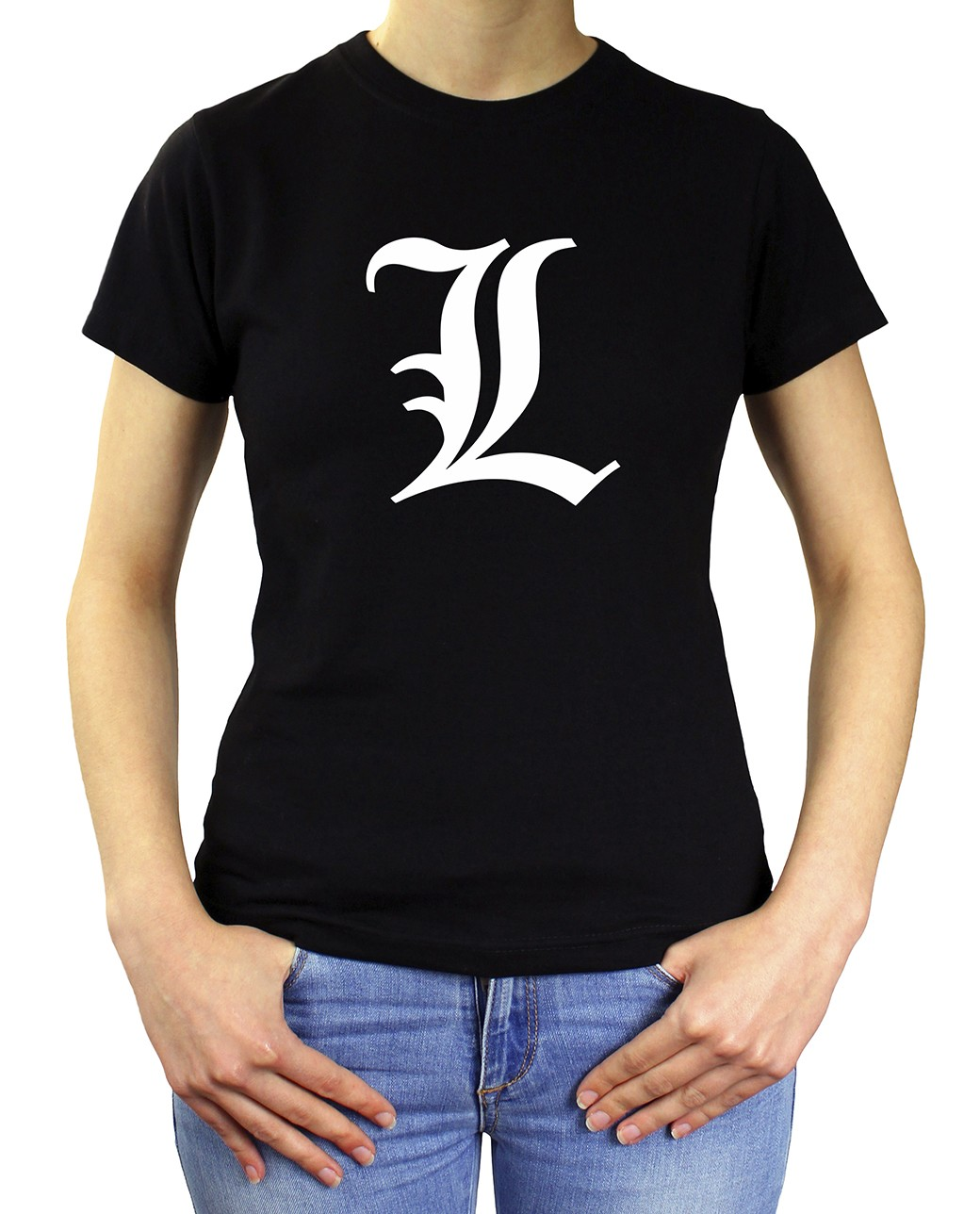 CAMISETA MUJER L DEATH NOTE