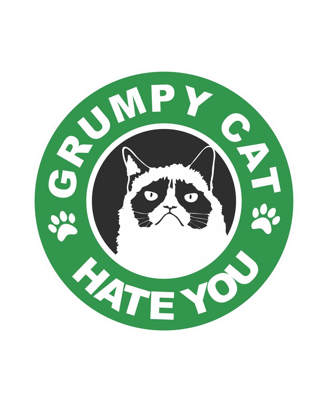 CAMISETA grumpy cat