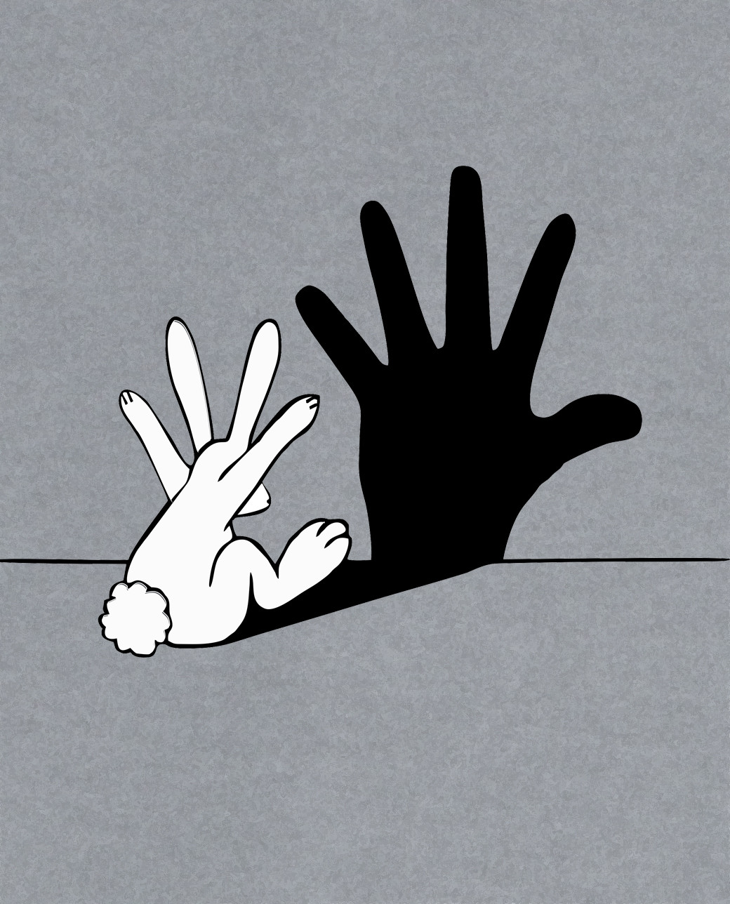conejo sombras
