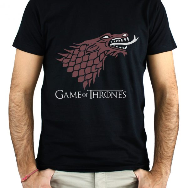 CAMISETA lobo dragón GAME OF THRONES