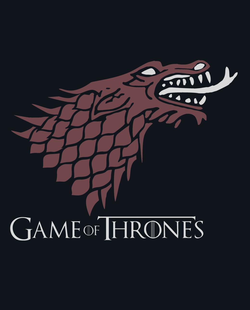 CAMISETA lobo dragón GAME OF THRONES